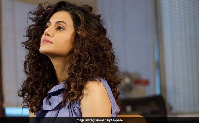'I Try Not To Get Swayed Away By Social Culture Of Industry,' Says Taapsee Pannu