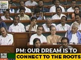 "Video : ""Hope You Go Higher"": PM Modi's Takedown Of Gandhis In Parliament"