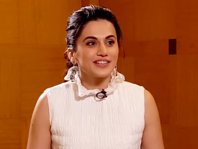 Video : Taapsee Pannu On Critical Feedback And Dealing With Success And Failure