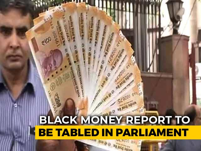Video : Parliamentary Panel Report On Black Money Caught In Congress-BJP Politics