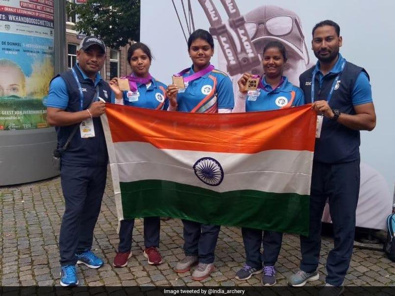 Jyothi Surekha Vennam Stars As India Bag Two Bronze In Archery World Championships