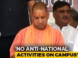"Video : In UP Draft Law, No ""Anti-National Activity"" In Private Universities"