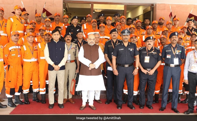'Make India Number One In Disaster Management,' Says Amit Shah