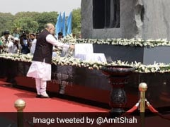 Amit Shah Pays Tribute At National Police Memorial In Delhi