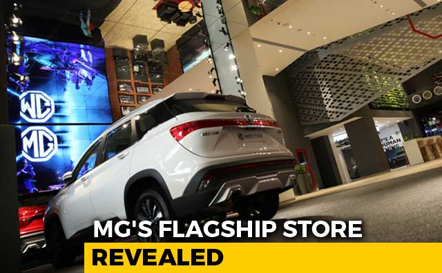 Video : Sponsored: A Look Into MG India's Flagship Store