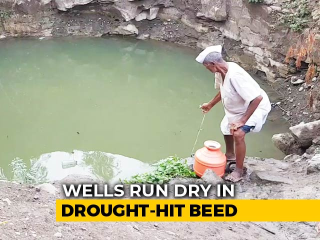 Video : In Drought-Hit Beed, Locals Forced To Drink Contaminated Water
