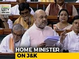 "Video : ""Law And Order Has Improved"" In J&K, Polls In Next 6 Months: Amit Shah"