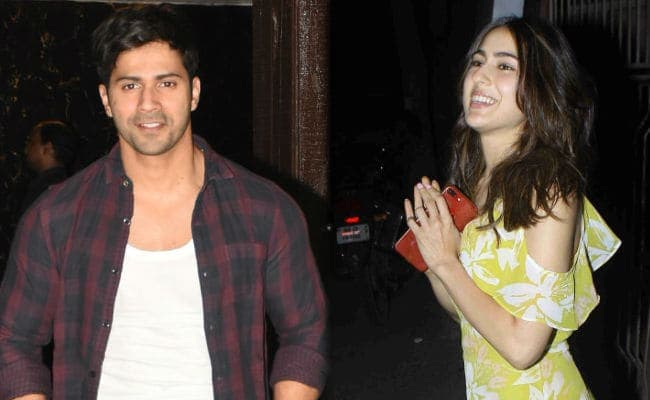 This Is When Varun Dhawan And Sara Ali Khan Will Start Filming Coolie No 1 Remake