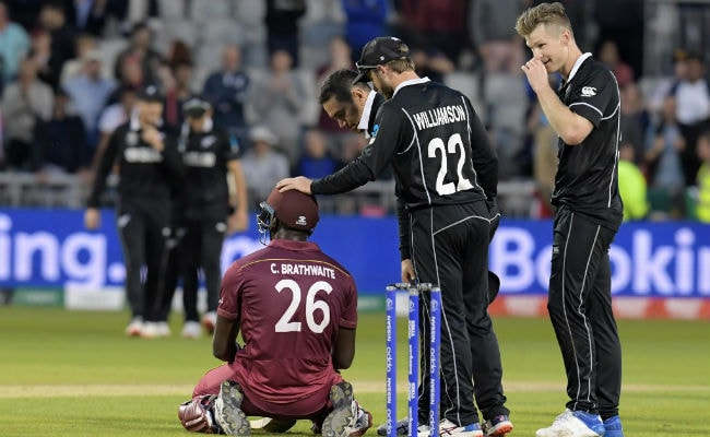 World Cup 2019, WI Vs NZ: Newa Zealand Beat West Indies By 5 Runs