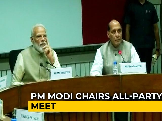 Video : Congress, Mamata Banerjee Lead 'Excuse Me' List For PM's All-Party Meet