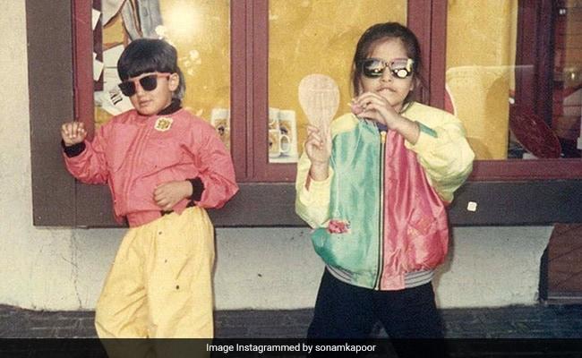 On Arjun Kapoor's Birthday, Sonam Kapoor Struck Gold In Her Photo Archive