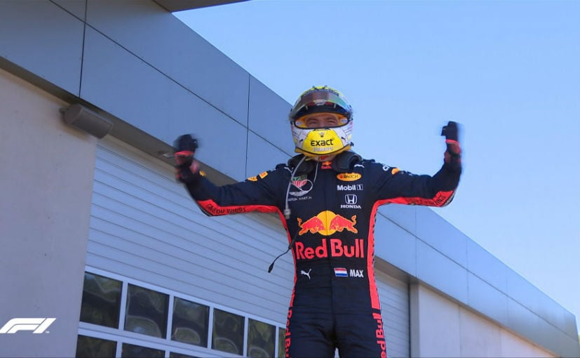 F1: Verstrappen Edges Leclerc To Win Dramatic Austrian GP