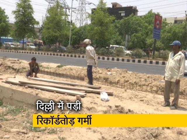Video : ग़रीबों पर मौसम की असल मार, निर्माण क्षेत्र के मज़दूरों का हाल
