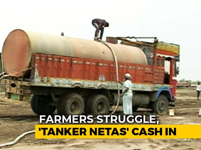 Video : In Drought-Hit Maharashtra's Marathwada, Business Booms For Water Tankers