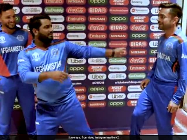 World Cup: Rashid Khan, Mohammad Shahzads Dance On Bollywood Song Leaves Fans In Splits. Watch Video