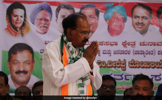 'Congress Would Have Won 15-16 Lok Sabha Seats If No JDS Tie Up' : Veerappa Moily
