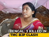 "Video : ""Shot In The Eye In Front Of Me"": Killed BJP Man's Wife Blames Trinamool"