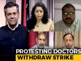 Video : Should Doctors Be Allowed To Go On Strike?