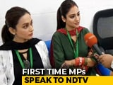 Video : Nusrat Jahan, Mimi Chakraborty Talk About Bengal Violence, Mamata Banerjee