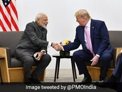 "Trump Joining PM At ""Howdy, Modi"" A Tribute To Indian-Americans: Diplomat"