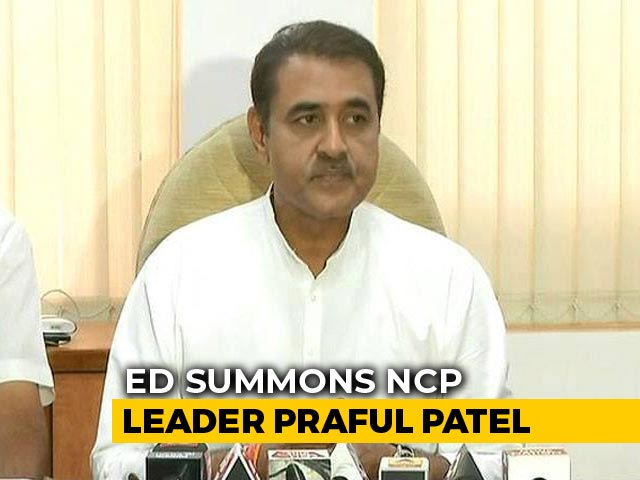 Video : Former Union Minister Praful Patel Summoned In Alleged Aviation Scam