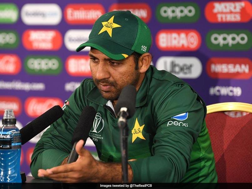 World Cup 2019: Sarfraz Ahmed warned his players