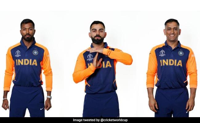 एमएस धोनी और विराट कोहली ने नई जर्सी में यूं दिखाए तेवर, टीम इंडिया का फर्स्ट लुक Viral