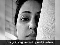 हिना खान को हुआ कुछ ऐसा, लिखा- मैं ठीक नहीं हूं; Photo हुई वायरल