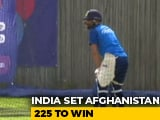 Video : World Cup: Afghanistan Restrict India To 224/8 In Southampton