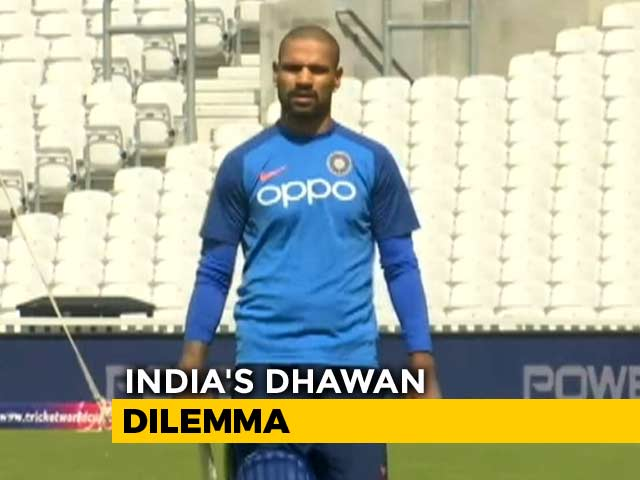 Video : Exclusive: Former Team India Physio Explains India's Shikhar Dhawan Dilemma