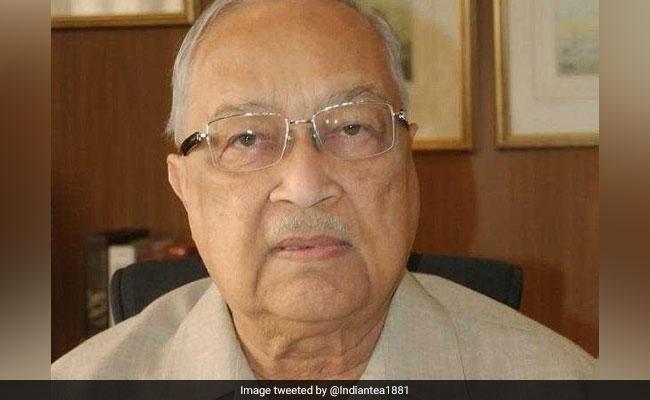 Veteran Industrialist Brij Mohan Khaitan Dies At 92