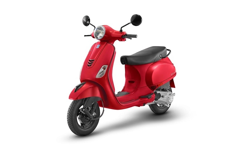 The Vespa Urban Club 125 comes in 4 colours - Azzurro Provenza, Maze Grey, Glossy Yellow and Glossy Red