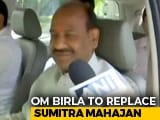 Video : BJP's Om Birla Set To Be Next Lok Sabha Speaker