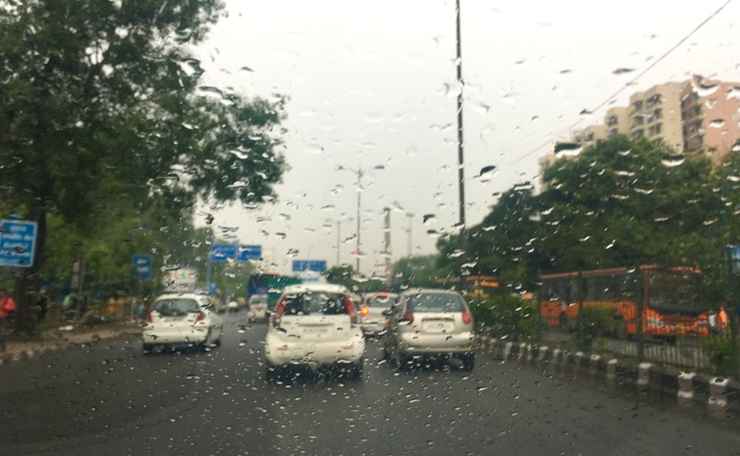 Light Rain In Delhi Brings Respite From Sultry Weather
