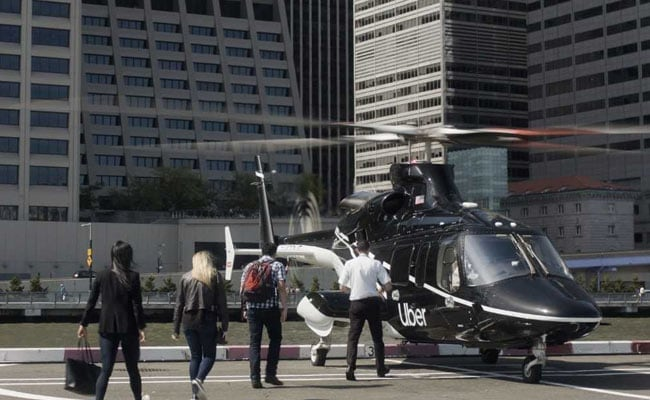 In 'Aerial Ridesharing', Uber's First Helicopter Ride Set For Take Off