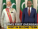 "Video : PM Modi Gets Maldives' Highest Honour ""Rule of Nishan Izzuddeen"""
