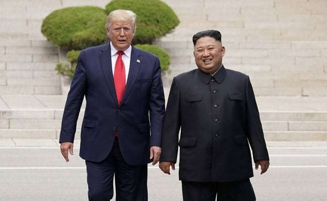 Kim Jong Un Knows About US President's Whereabouts. Trump Has An Idea How