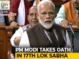 Video : 'Modi, Modi' Chants, Cheers As PM Takes Oath In New Lok Sabha. Watch