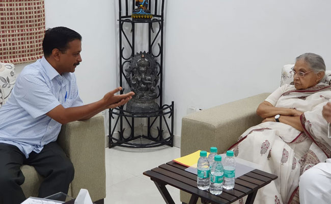 Sheila Dikshit Meets Arvind Kejriwal Weeks After Blame Game, Poll Defeat