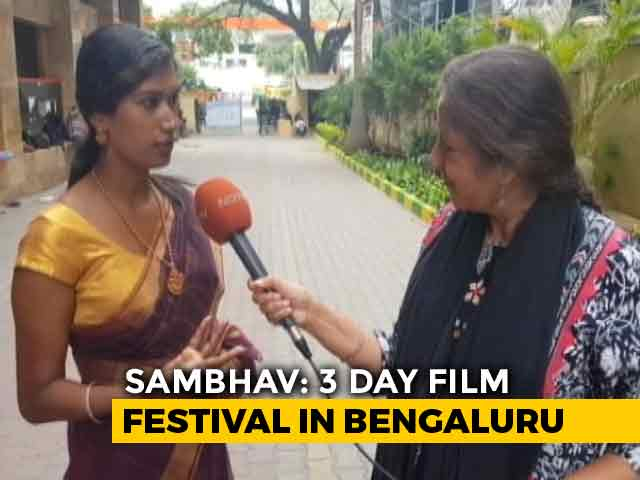 Video : Sambhav Film Festival Explores Gender, Masculinity And Relationships