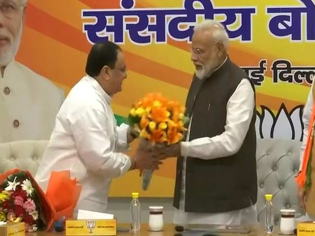 Video : JP Nadda Appointed Working BJP President