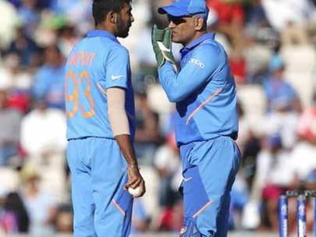 World Cup 2019, IND vs WI: Thats how Jasprit Bumrah defended to MS Dhoni