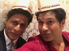 """Don't 'Chuck De' Helmet"": Shah Rukh Khan Gets Bollywood Style Advice From Sachin Tendulkar. His Reply Is Epic"