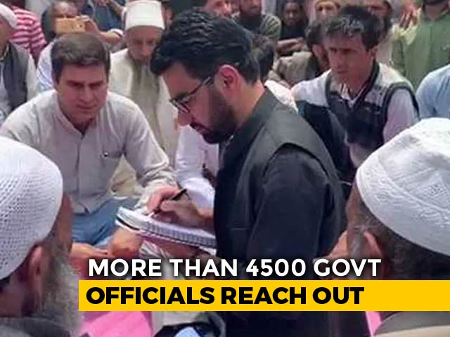Video : Rural Outreach By Bureaucrats Breaks Ice In Jammu And Kashmir