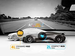 Continental Develops Head-Up Display For Sports Cars