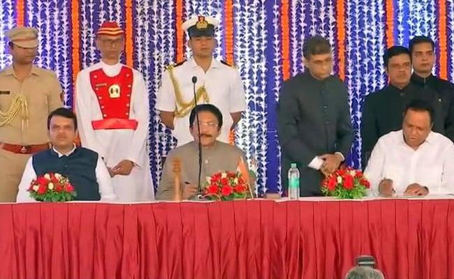Maharashtra Cabinet Expanded, Radhakrishna Vikhe Patil Sworn-In