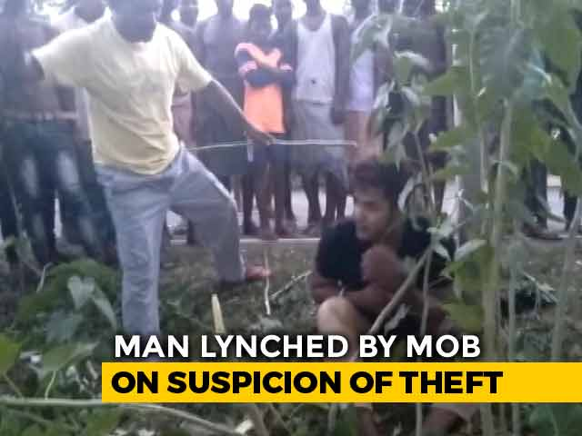 Video : Jharkhand Man Beaten By Mob For Hours, Made To Chant 'Jai Shri Ram', Dies