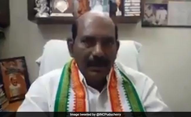 V P Sivakolundhu Elected As Puducherry Assembly Speaker