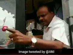 """You Voted For Narendra Modi"": HD Kumaraswamy Snaps At Locals On Camera"