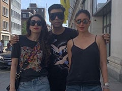 Kareena Kapoor's Well-Spent Weekend With Karisma And Karan Johar In London